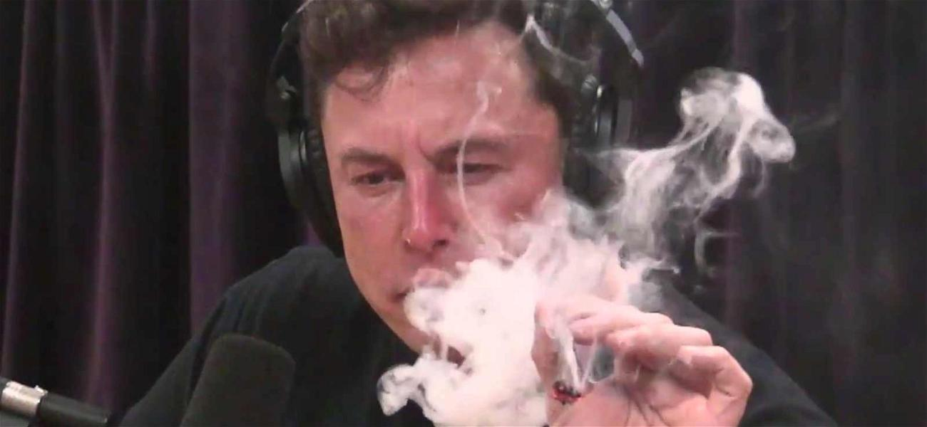 Elon Musk Rips a Blunt Like a Pro with Joe Rogan During Interview