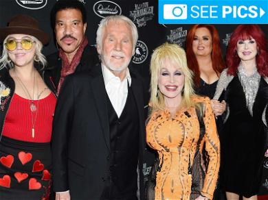 Kenny Rogers Knows When to Fold 'Em … Celebs Come Out to Honor Career