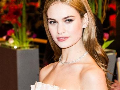 Lily JamesReportedly Terrified When Affair With Dominic WestBecame Public
