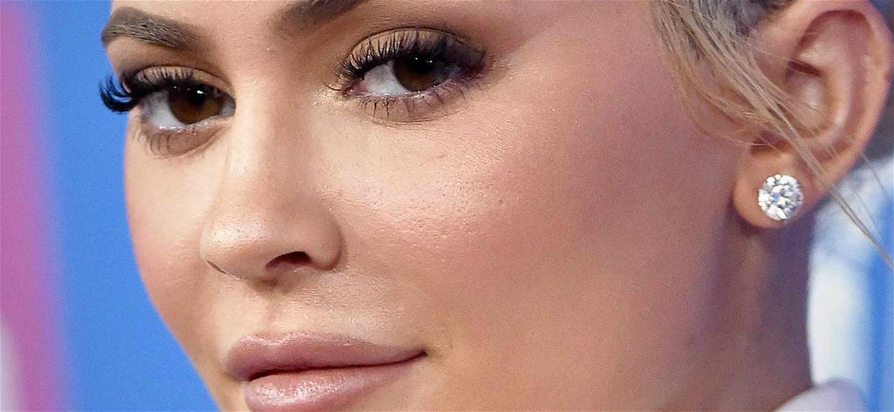 Kylie Jenner Jumps Into the Eyelash Game with 'KYLASH'