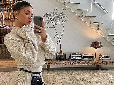 Kylie Jenner Just Showed Instagram How Her Clothes Match Her Furniture & The Comments Are Hilarious