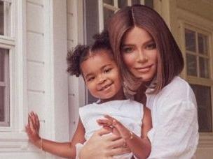 Khloe Kardashian And Daughter True Cheer On Tristan Thompson