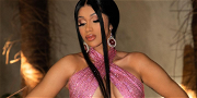 Cardi B CRUSHES As 'Balmain Bardi' In Dangerously High Slit Dress