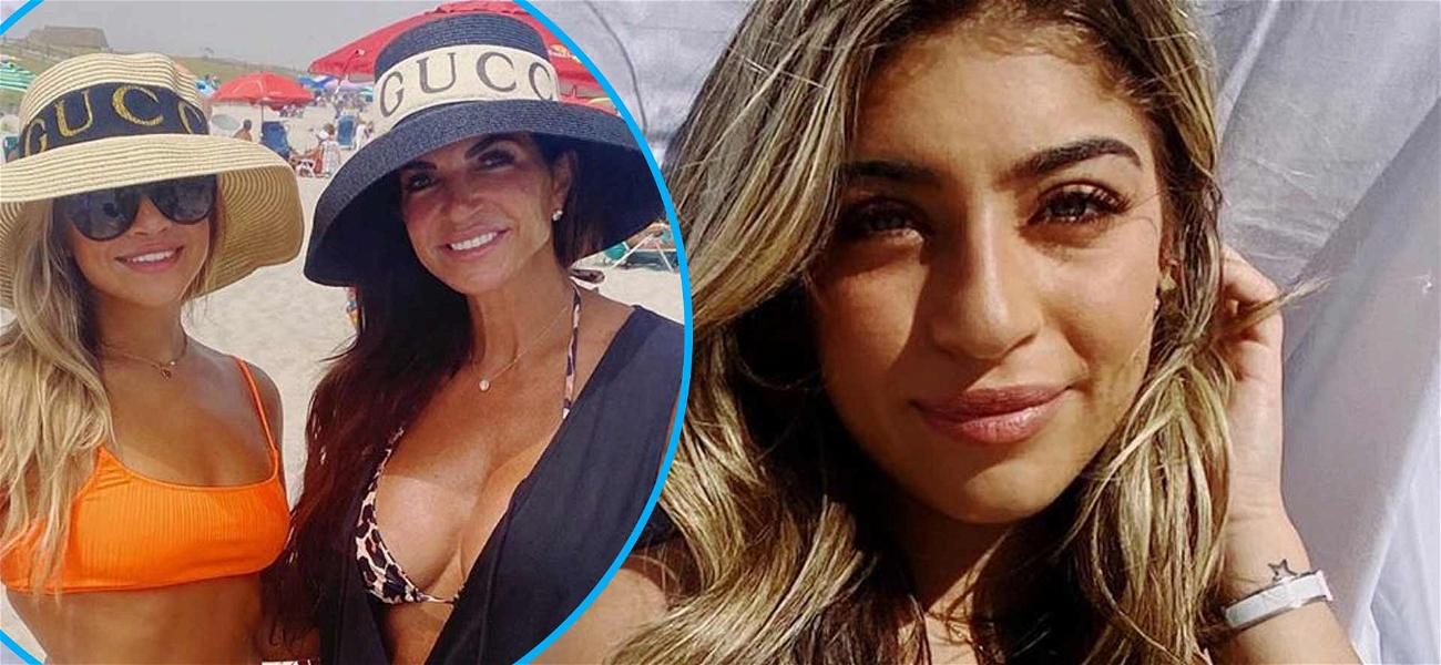 Teresa Giudice And 19-Year-Old Daughter Gia Flaunt Beach Bodies Days After Gia Admits To Nose Job