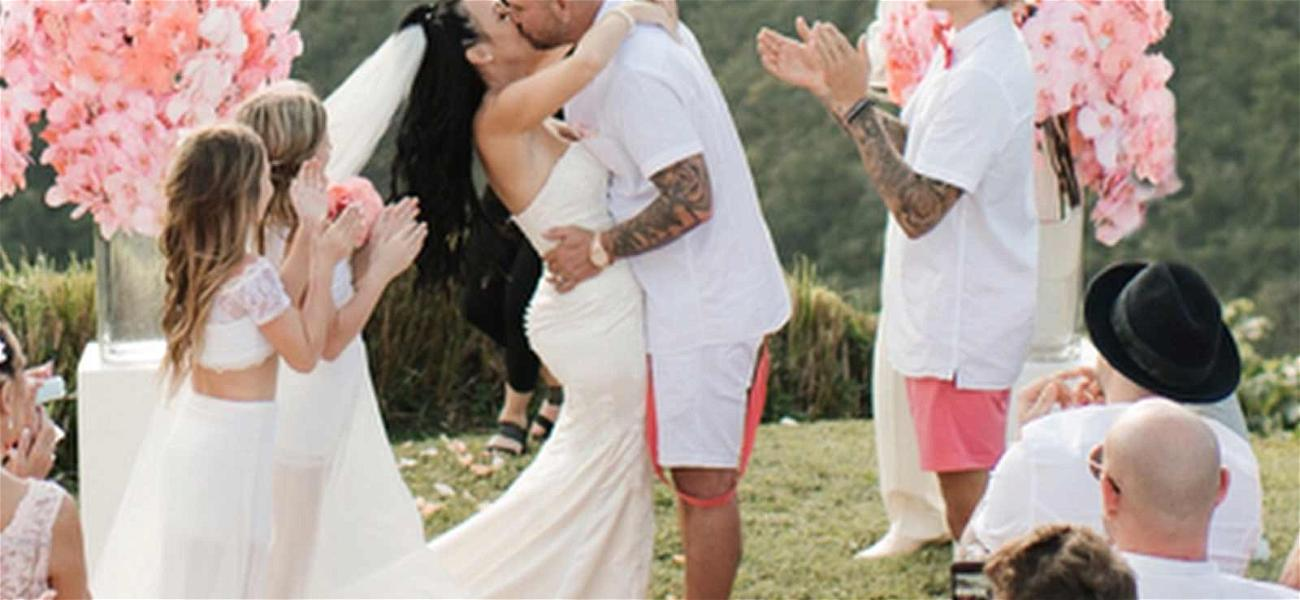 Justin Bieber Stood By His Dad's Side During Jamaican Wedding
