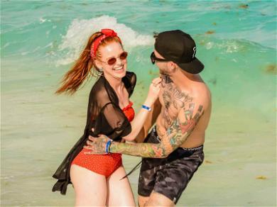Madelaine Petsch Trades Riverdale for Cancun with Boyfriend Travis Mills