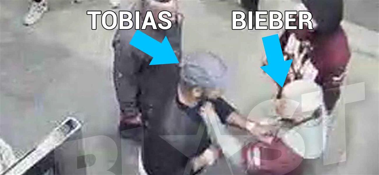 New Justin Bieber Fight Video Shows the Singer Turn a Man Around By Shirt and Punch Him in the Face
