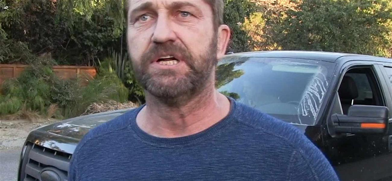 Gerard Butler Chokes Up Discussing Malibu Fires That Burned Down His House