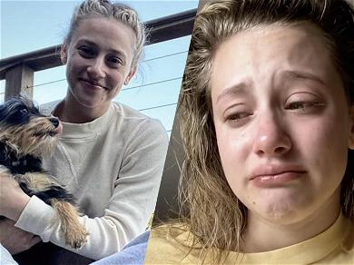 'Riverdale' Star Lili Reinhart's Dog Recovering From Emergency Surgery After Savage Attack