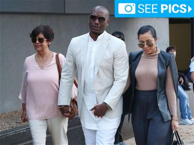 Tyrese Wears All White to Court Because 'It's Not a Funeral'