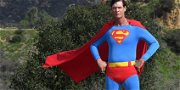 'Hollywood Superman' Will Be Buried In His Costume, Money Raised for Funeral