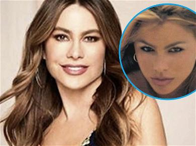 Sofia Vergara Poses Topless In Steamy '90s Throwback