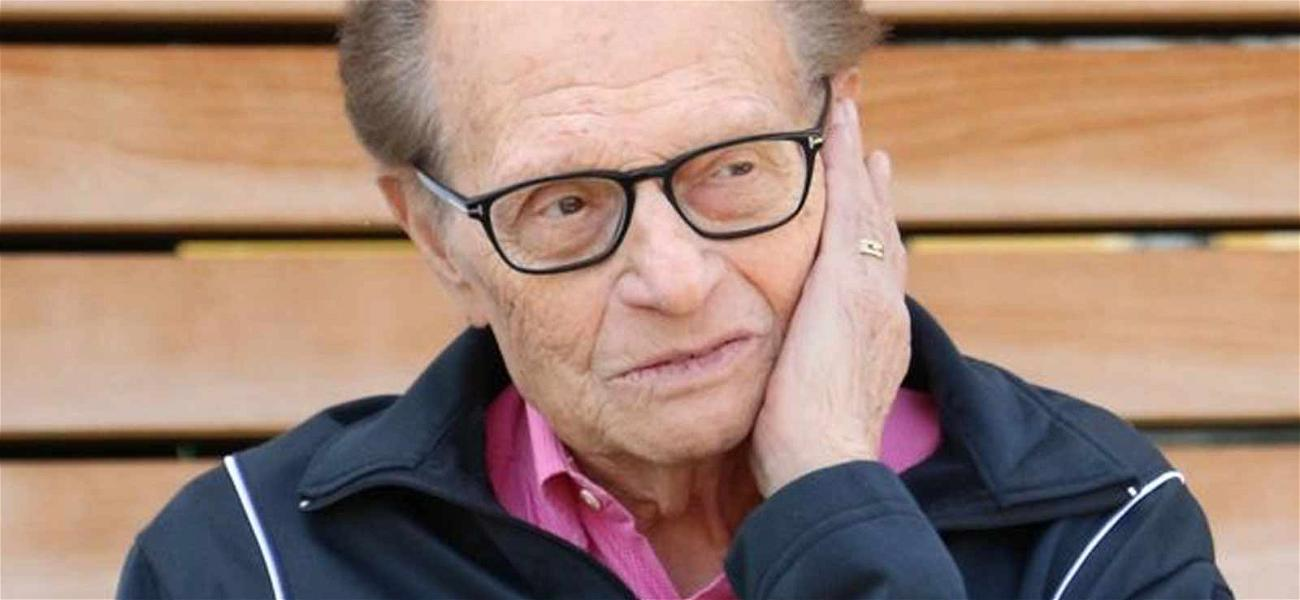 Larry King Recovering After Lung Cancer Surgery