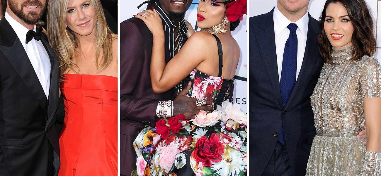 Looking Back On the 10 Most Shocking Celebrity Splits of 2018