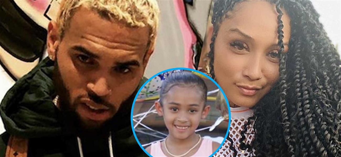 Chris Brown & Nia Guzman Cuddle Up To Royalty On Daughter's Sixth Birthday