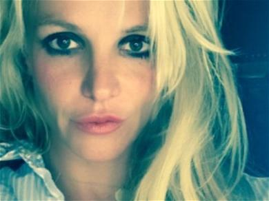 Britney Spears Delivers Deep Wisdom In Peasant Backyard Blouse