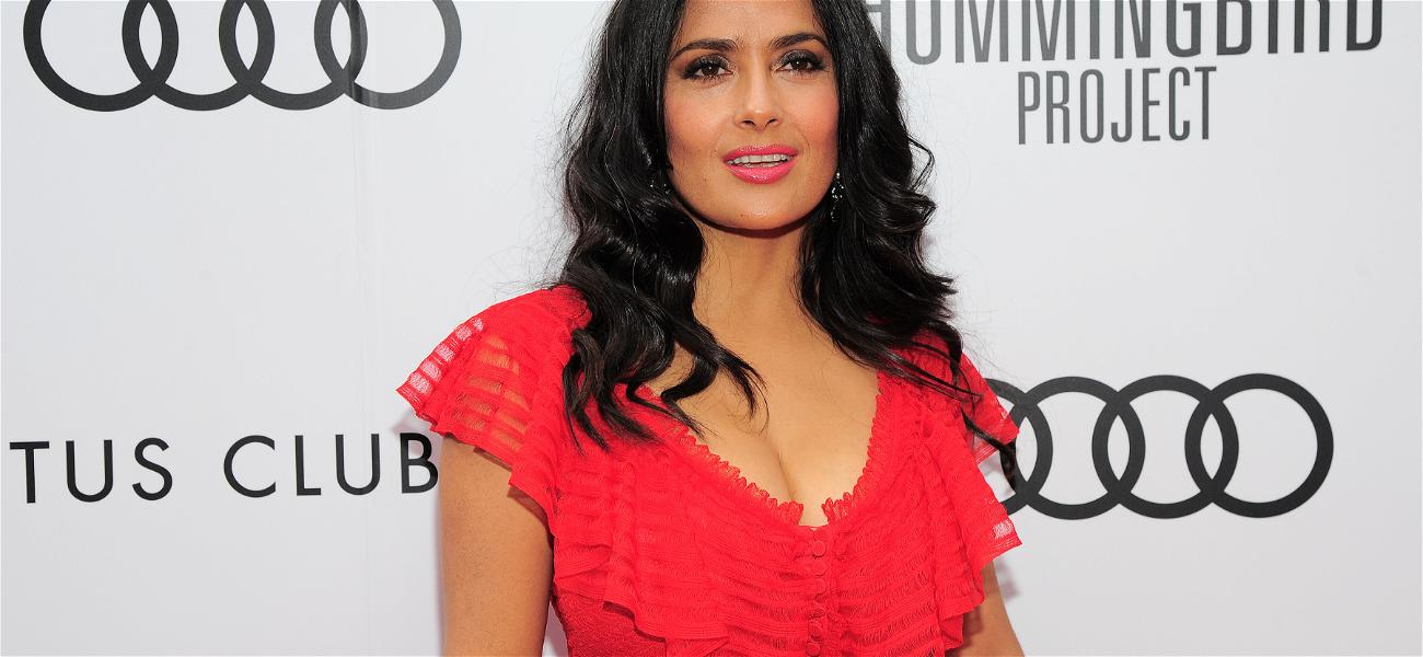At Fifty-Three Years Old Salma Hayek Finally Reveals Her Fear About Aging