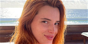 Bella Thorne Is The Lady In Red Leather Pants And No Shirt For Fitness Pic