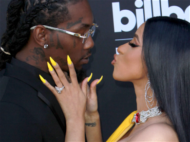Cardi B Gets Her Valentine's Day Wish — See The Over The Top Gifts!