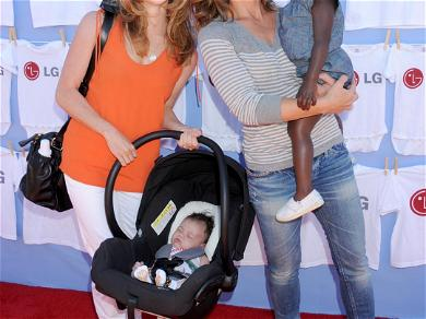 Jillian Michaels and Heidi Rhoades Before The Split