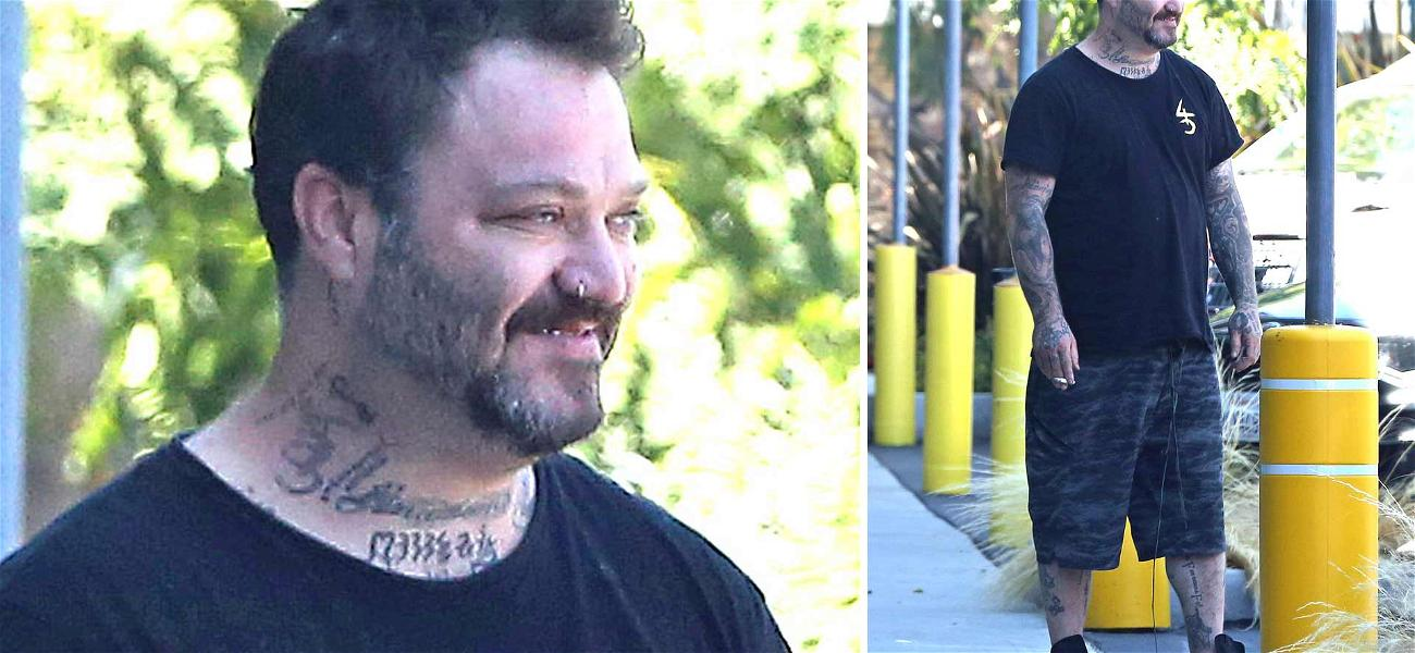 Bam Margera Looks Rough After Release from Jail Following Trespassing Arrest