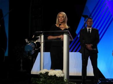 Pam Anderson Freezes When Asked About Son and Tommy Lee Fight