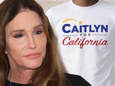 Caitlyn Jenner Announces Run For California Governor With Hats, Mugs, & Caitlyn Merch