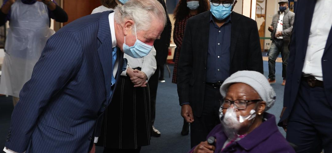 Prince Charles Visits Black Health Care Workers Amid Claims Of Royal Family Racism
