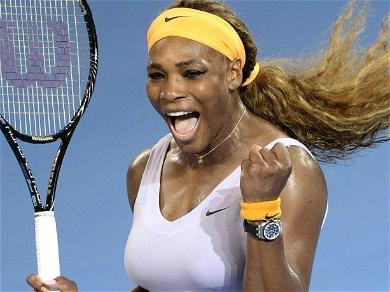 Serena Williams Stuns In Skin-Tight Black Dress Showing Killer Body