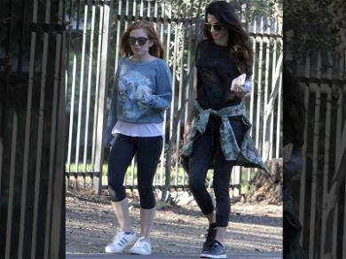 Amal Clooney and Isla Fisher Take a Hike in Los Angeles