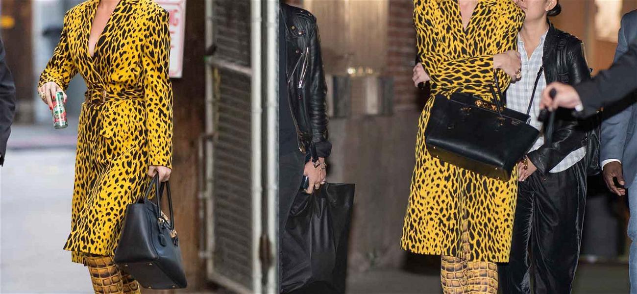 Katy Perry Rocks the Same Slippers Tiffany Haddish Wore at the Oscars