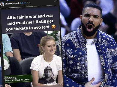 Drake Claps Back at Milwaukee Bucks Owner's Daughter After Pusha T Diss