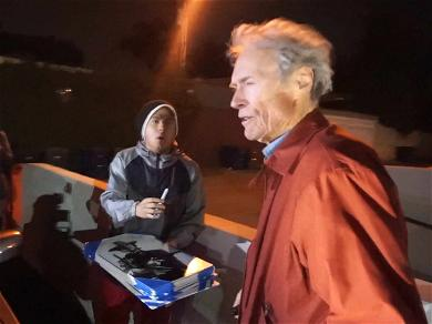 Clint Eastwood Just Wants to Go Home After Dinner