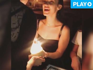 Bella Hadid Shows Off Her Cakes For 21st Birthday