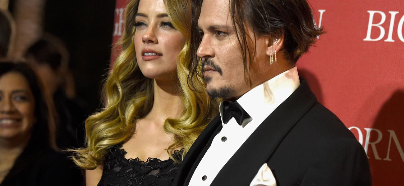 """Amber Heard's Mom Texted Johnny Depp """"I Love You, Son"""" After Alleged Domestic Violence"""