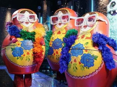 'The Masked Singer' Eliminates First Trio: The Russian Dolls