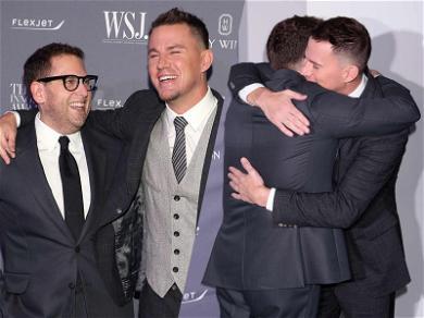 Channing Tatum and Jonah Hill Hold '21 Jump Street' Reunion at WSJ. Magazine's Innovator Awards