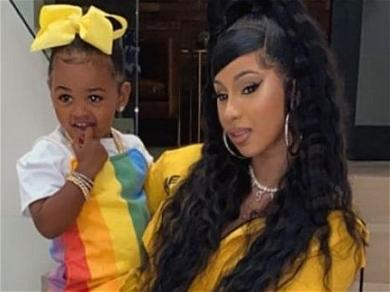 Cardi B Explains Why Daughter Kulture Can't Listen To 'WAP'