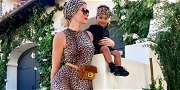 Khloé Kardashian Goes Wild With 'Cub' True in Matching Leopard-Inspired Outfits