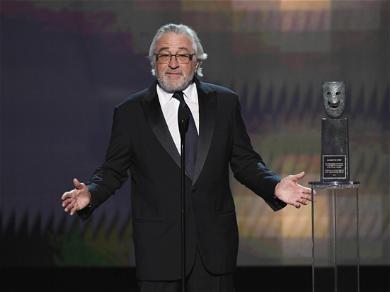 Robert De Niro Accepts SAG Lifetime Achievement Award While Blasting Trump's 'Abuse Of Power'