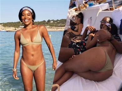Gabrielle Union's Bikini Romp in Ibiza is a Thing of Booty