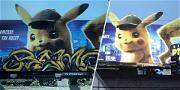 Who Tagged the Pokémon Billboard? 'Detective Pikachu' On the Case