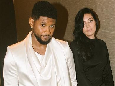 Singer Usher Dances With Rumored Boo Jenn Goicoechea At Oscars Party