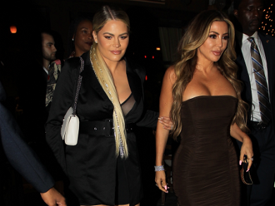 Larsa Pippen STUNS On Night Out After Kanye West's Twitter Rant, Dines W/ 'Snob World' Founders