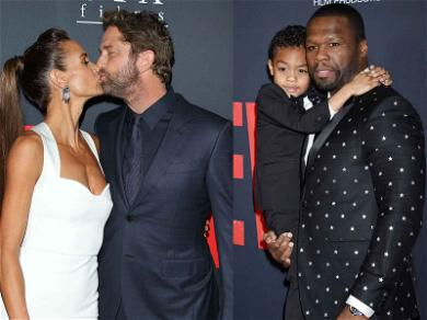 Gerard Butler & 50 Cent Rule the 'Den of Thieves' Premiere