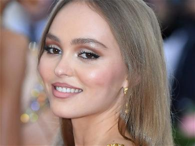 Lily-Rose Depp Stunningly Frees The Nipple In Braless Tube Top On Paris Streets