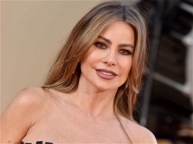 Sofia Vergara's Seashell Corset Cleavage Barely Contained In 'AGT' Video