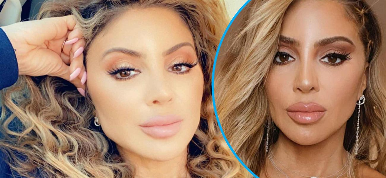 Larsa Pippen Announces 'Pure Intentions' With Stunning Selfie In Low Cut Top