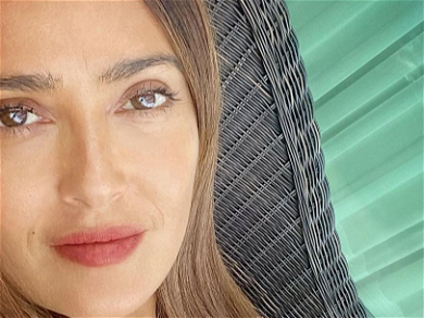 Salma Hayek Takes Shot Of Tequila With Lime To Kick Off The Weekend