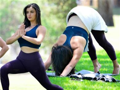 Rebecca Black Goes Face Down, Mats Up In Beverly Hills Yoga Session